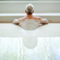 Le bain de kaolin
