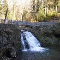 La cascade du Gué du Saut à Xertigny