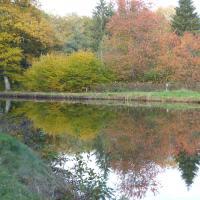 Le canal des Vosges à La Vôge-les-Bains