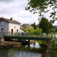 Le pont tournant à la main de Selles