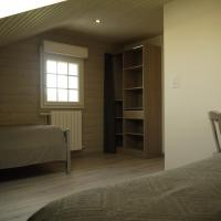 La chambre enfant avec 2 lits